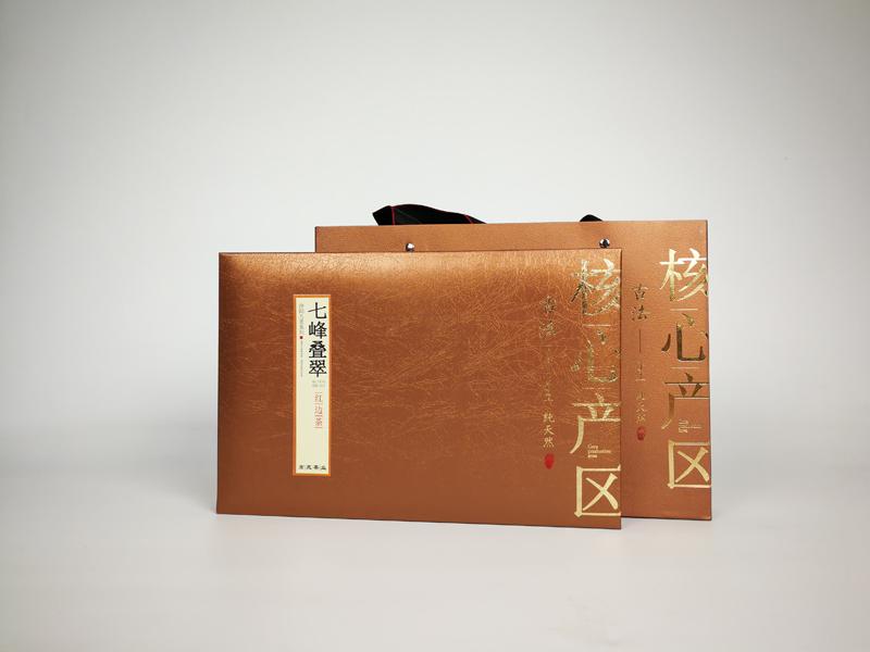 核心产区-七峰叠翠红边茶